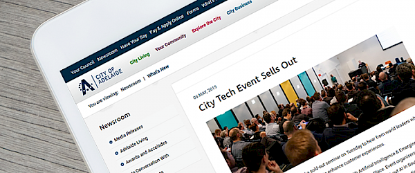 AiLab: City of Adelaide Article – City Tech Event Sells Out