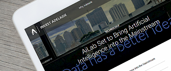 AiLab: City of Adelaide Article – AiLab set to bring AI into the mainstream