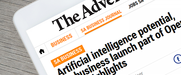 AiLab: The Advertiser Article – AI potential, SA business launch part of Open State highlights